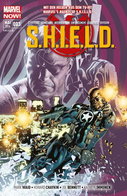 S.H.I.E.L.D. 3: S.H.I.E.L.D.-Legenden