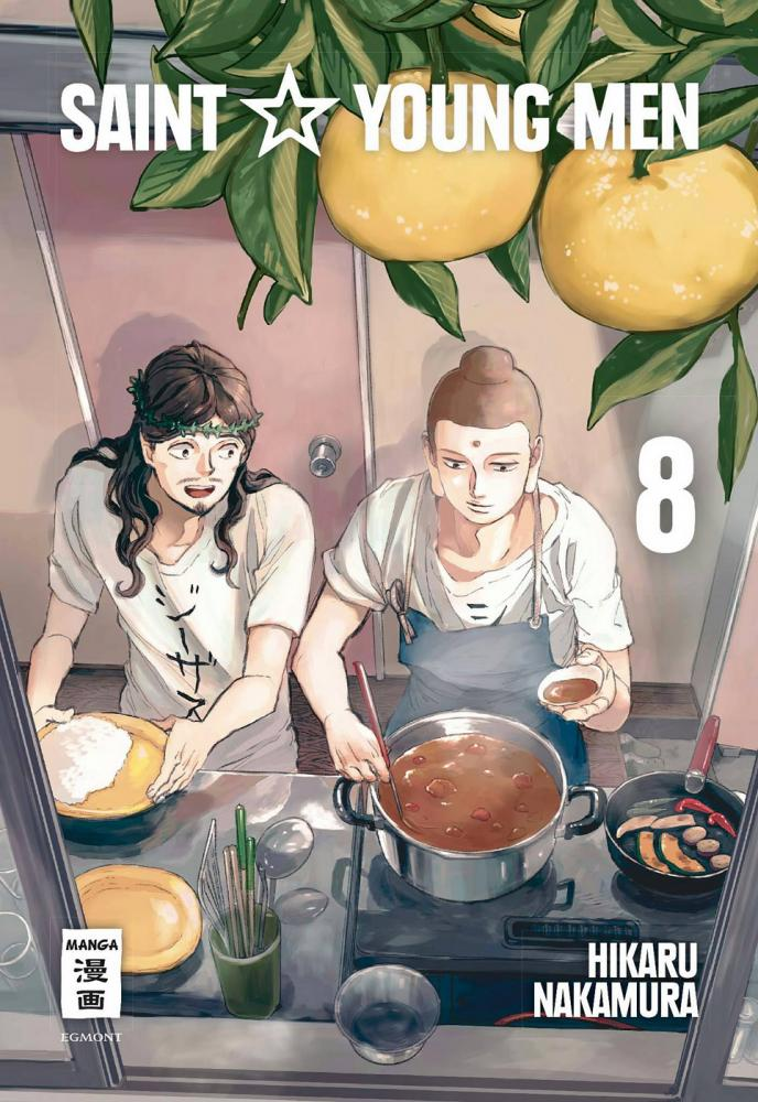 Saint Young Men Band 8