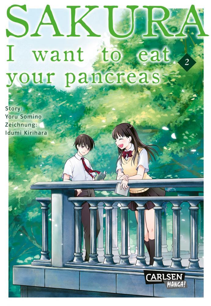 Sakura - I want to eat your pancreas Band 2