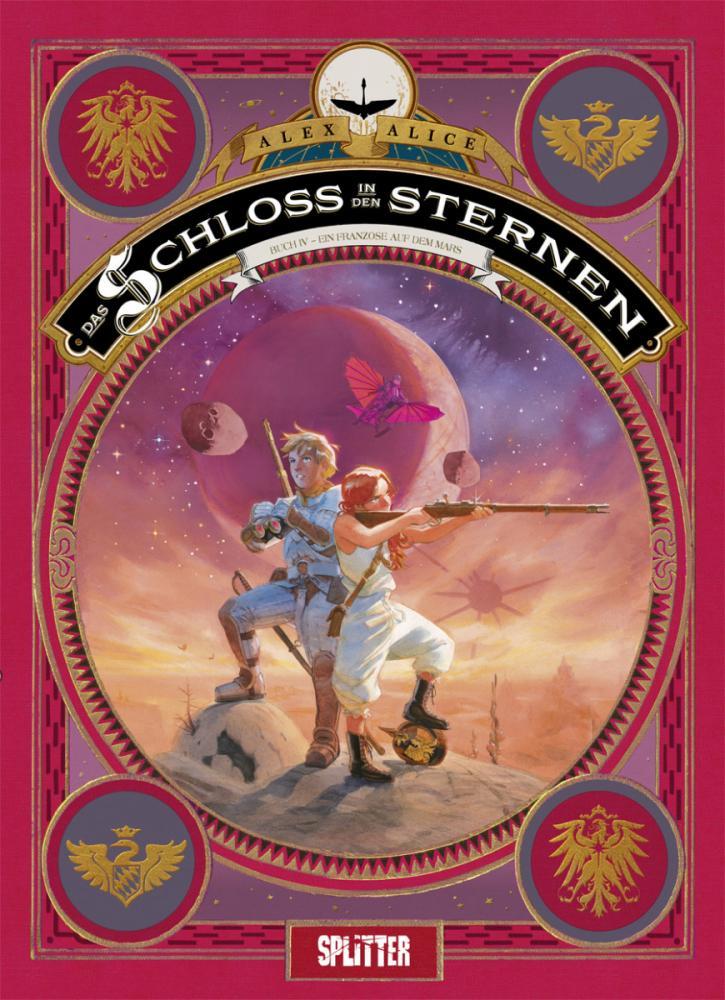 Schloss in den Sternen Buch IV: Ein Franzose auf dem Mars