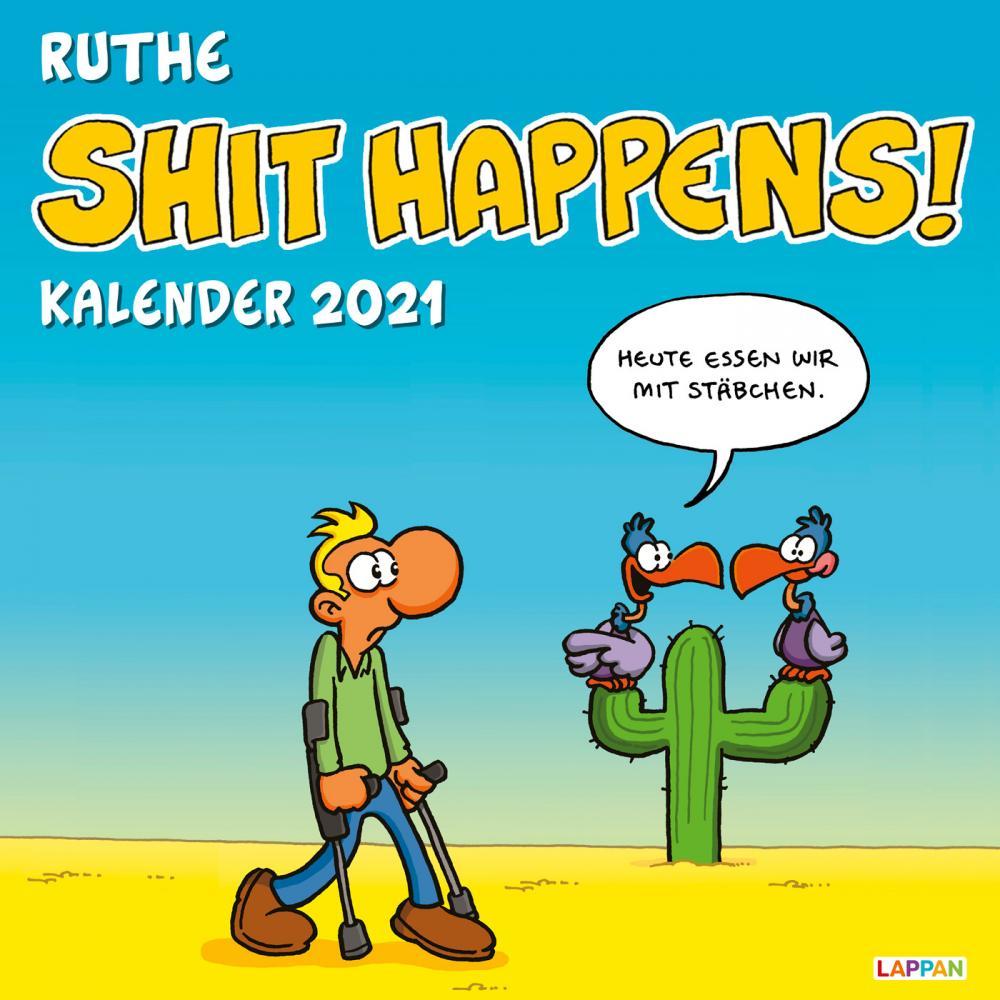 Shit Happens Kalender 2021