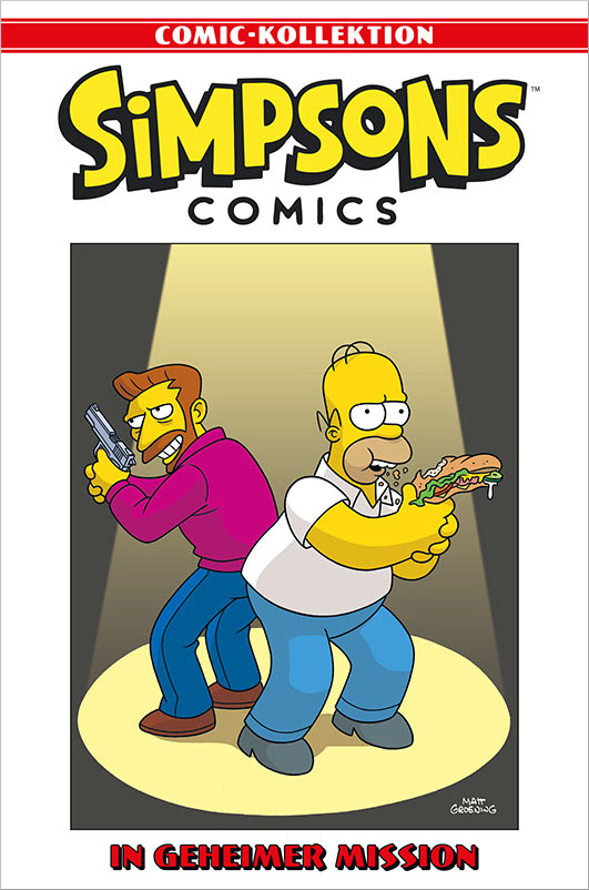Simpsons Comic-Kollektion 58: In geheimer Mission