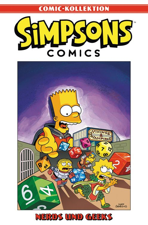 Simpsons Comic-Kollektion 13: Nerds und Geeks