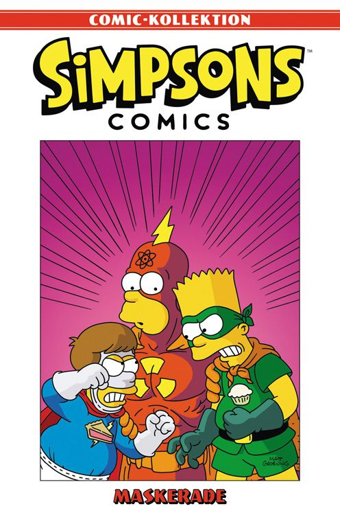 Simpsons Comic-Kollektion 25: Maskerade