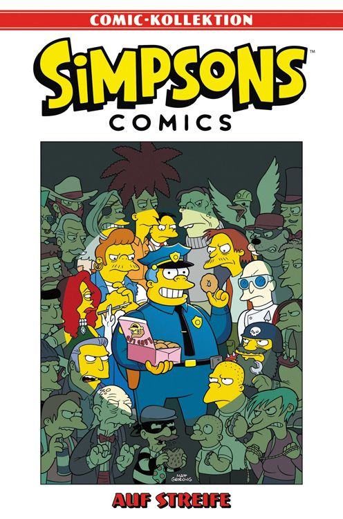 Simpsons Comic-Kollektion 27: Auf Streife