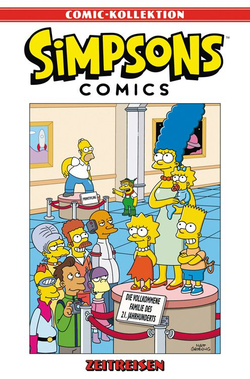 Simpsons Comic-Kollektion 28: Zeitreisen