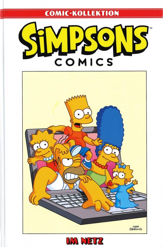 Simpsons Comic-Kollektion 32: Im Netz