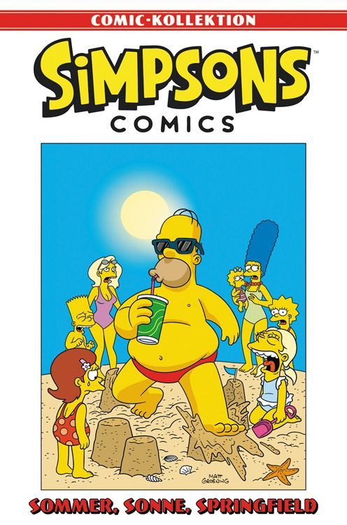 Simpsons Comic-Kollektion 34: Sommer, Sonne, Springfield