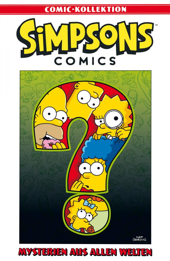 Simpsons Comic-Kollektion 42: Mysterien aus allen Welten
