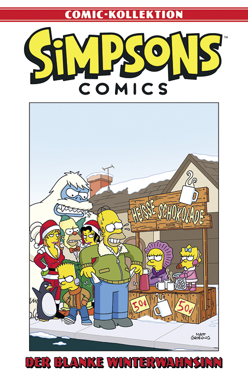 Simpsons Comic-Kollektion 47: Der blanke Winterwahnsinnögel