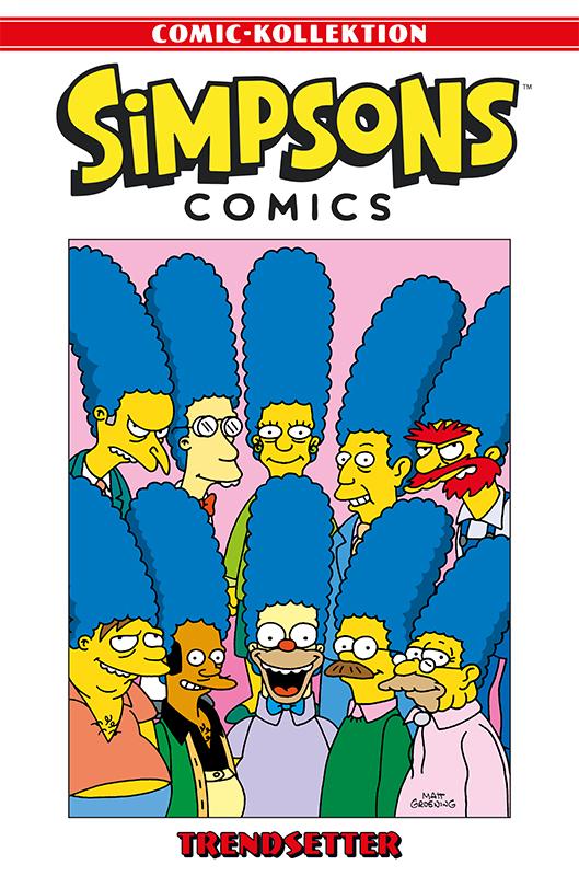 Simpsons Comic-Kollektion 50: Trendsetter