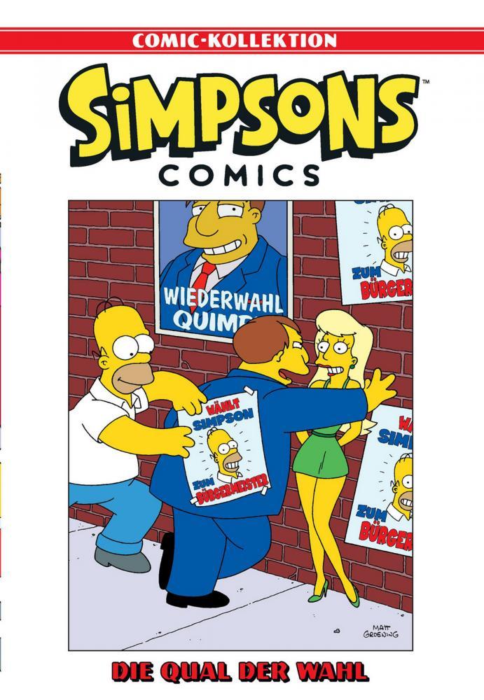 Simpsons Comic-Kollektion 55: Qual der Wahl