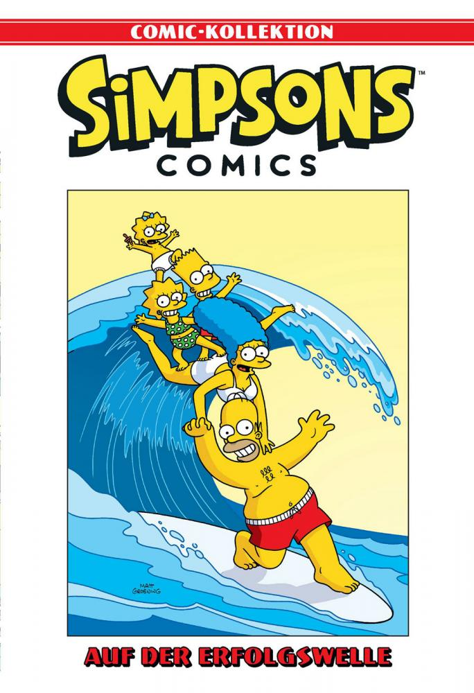 Simpsons Comic-Kollektion 61: Auf der Erfolgswelle
