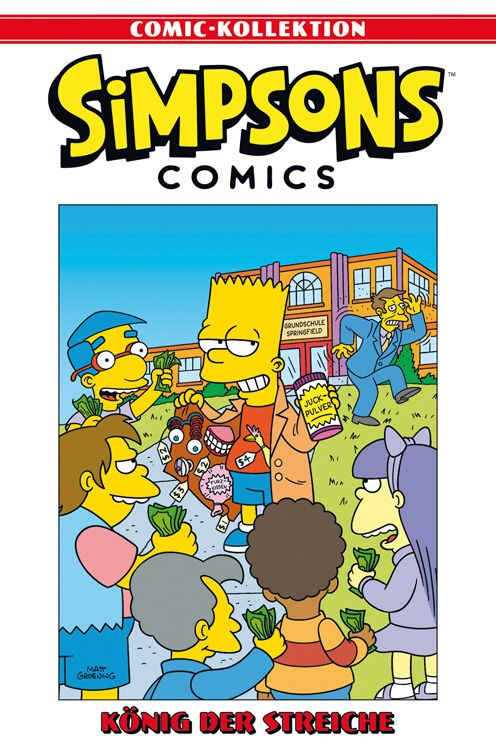Simpsons Comic-Kollektion 7: König der Streiche
