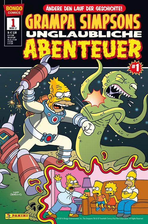 Grampa Simpsons unglaubliche Abenteuer (Simpsons Comics präsentiert)