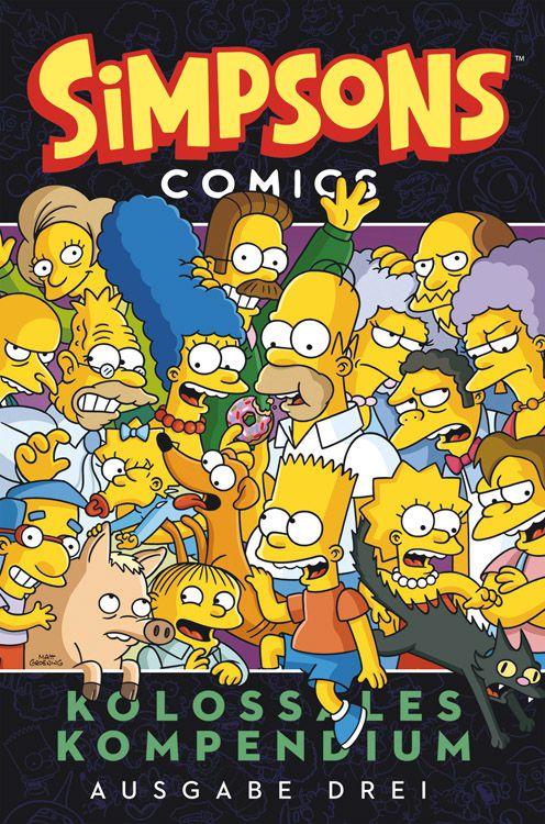 Simpsons - Kolossales Kompendium Band 3