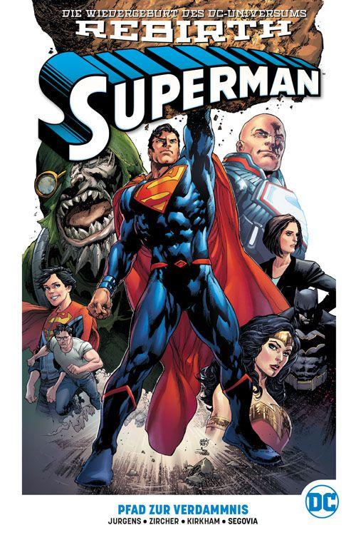Superman (Rebirth) Paperback 1: Pfad zur Verdammnis (Hardcover)