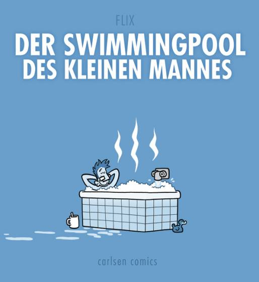 Swimmingpool des kleinen Mannes