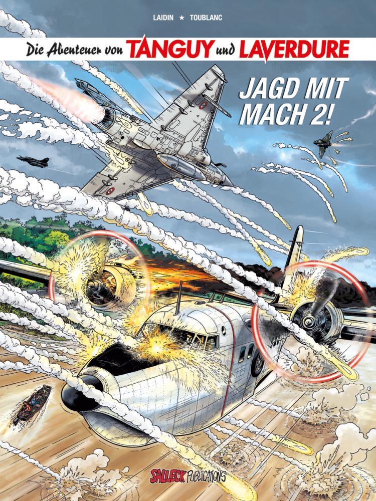 Abenteuer von Tanguy und Laverdure 22: Jagd mit Mach 2! (Softcover)