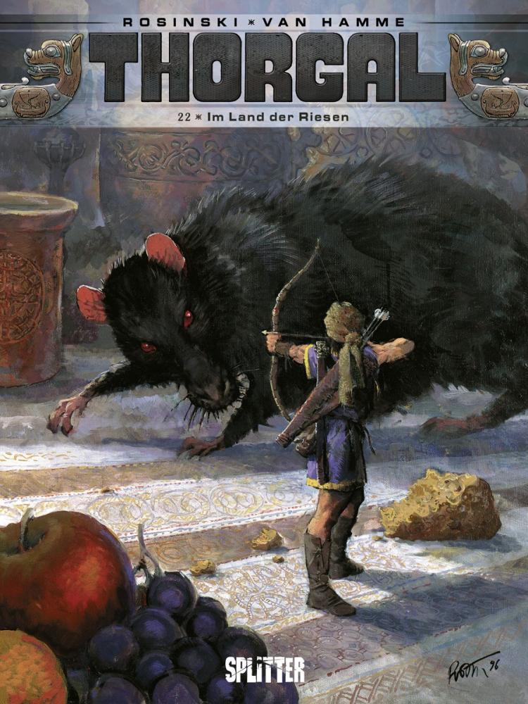 Thorgal 22: Im Land der Riesen
