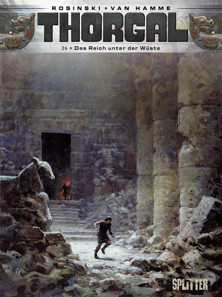 Thorgal 26: Das Reich unter der Wüste