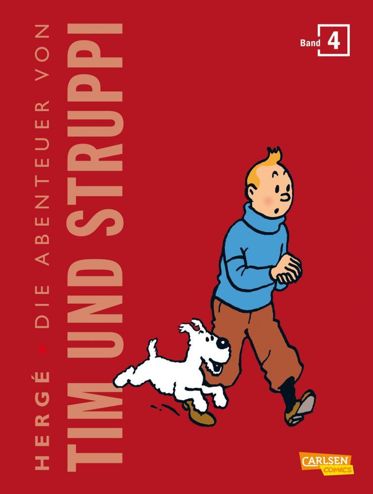 Tim und Struppi Kompaktausgabe Band 4