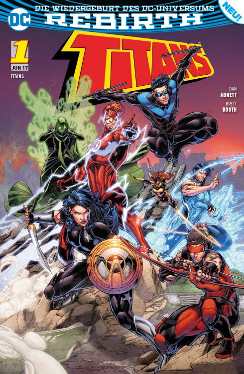 Titans (Rebirth) 1: Die Rückkehr von Wally West