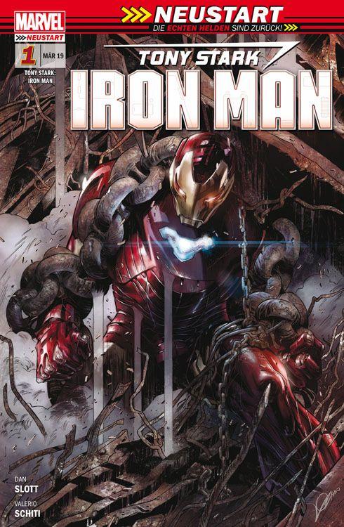 Tony Stark: Iron Man (2019) 1: Die Rückkehr einer Legende
