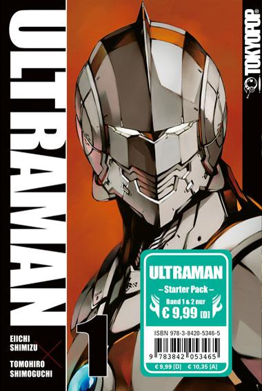 Ultraman Starter Pack (Band 1 und 2)