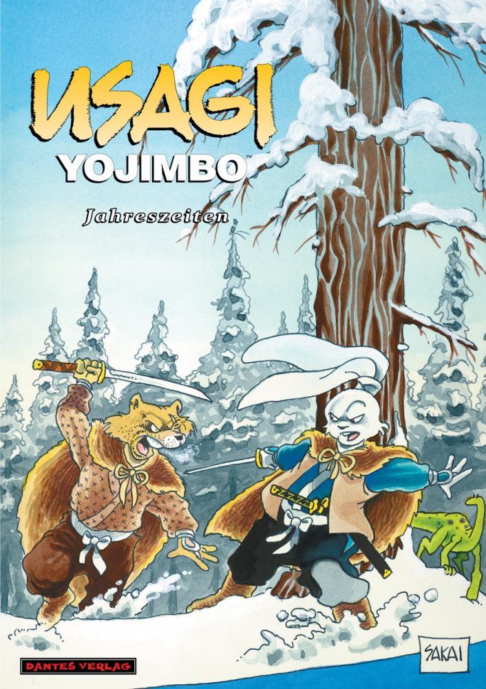 Usagi Yojimbo (Werkausgabe) 11: Jahreszeiten