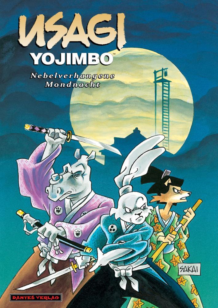 Usagi Yojimbo (Werkausgabe) 16: Nebelverhangene Mondnacht