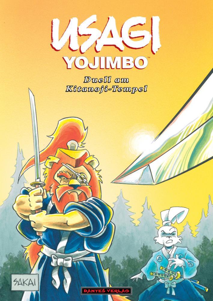 Usagi Yojimbo (Werkausgabe) 17: Duell am Kitanoji-Tempel