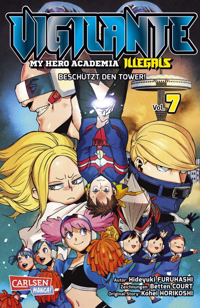 Vigilante - My Hero Academia Illegals 7: Beschützt den Tower!