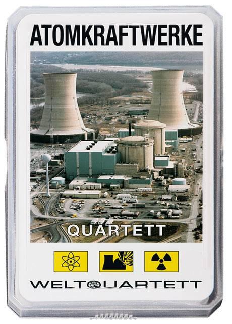 Weltquartett: Atomkraftwerke