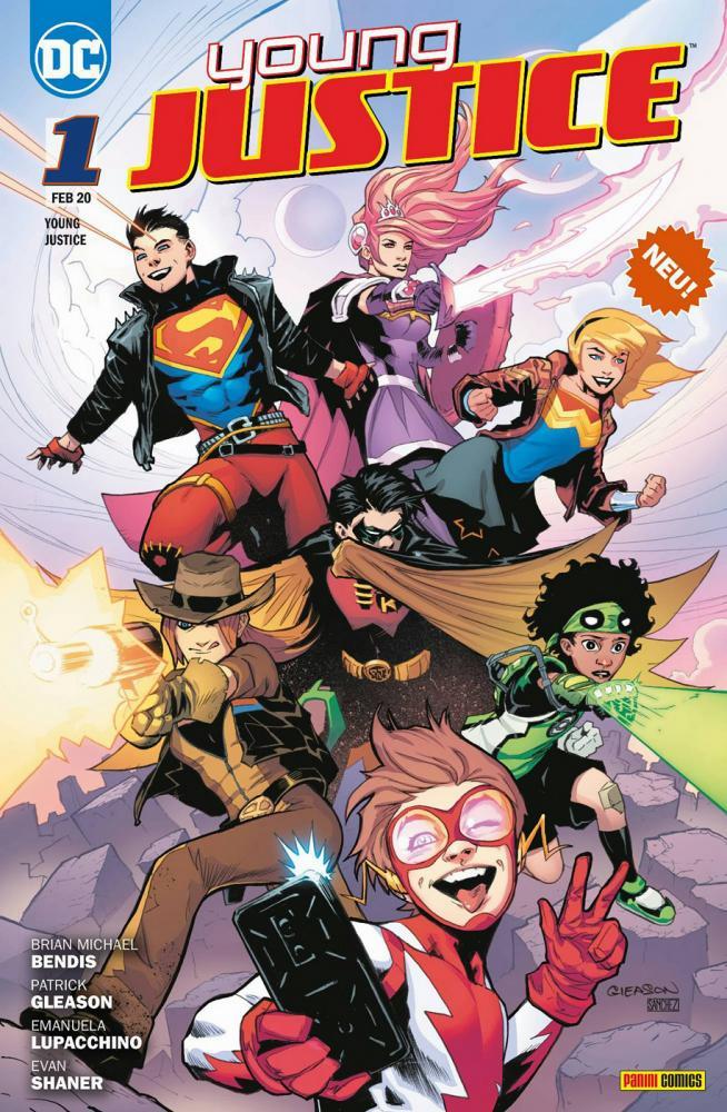 Young Justice 1: Sieben Krisen