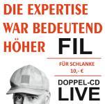 FIL: Die Expertise war bedeutend höher (CD)