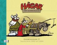 Hägar Gesamtausgabe Band 21: Tagesstrips 2002 bis 2004