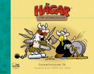Hägar Gesamtausgabe Band 26: Tagesstrips 2010 bis 2012