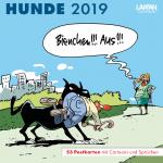 Hunde Postkartenkalender 2019