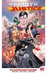Justice League (Rebirth) Paperback 1: Die Auslöschungs-Maschine (Hardcover, mit Blechschild)