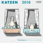 Katzen Postkartenkalender 2018