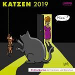 Katzen Postkartenkalender 2019