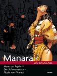 Manara Werkausgabe 16: Der Mann aus Papier - Der Schneemensch - Flucht von Piranesi