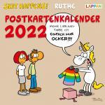 Shit Happens Postkartenkalender 2022