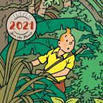 Tintin (Tim und Struppi) Tischkalender 2021