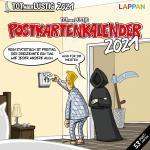 Tot aber lustig Postkartenkalender 2021