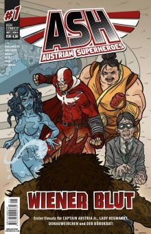 ASH - Austrian Superheroes 1: Wiener Blut