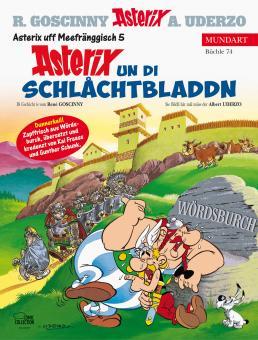 Asterix Mundart 74: Asterix un di Schlåchtbladdn (Meerfränkisch V)