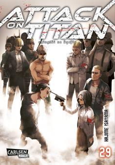 Attack on Titan Band 29