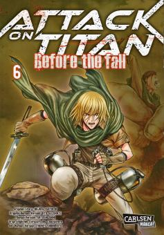Attack on Titan -  Before the Fall Band 6